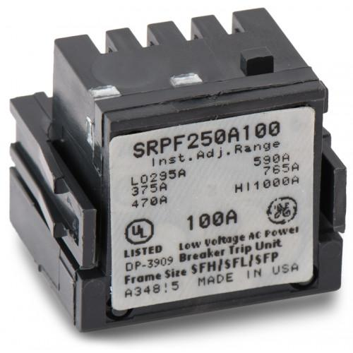 SRPF250A100 - GE 100 Amp 3 Pole 600 Volt Molded Case Circuit Breaker Rating Plug