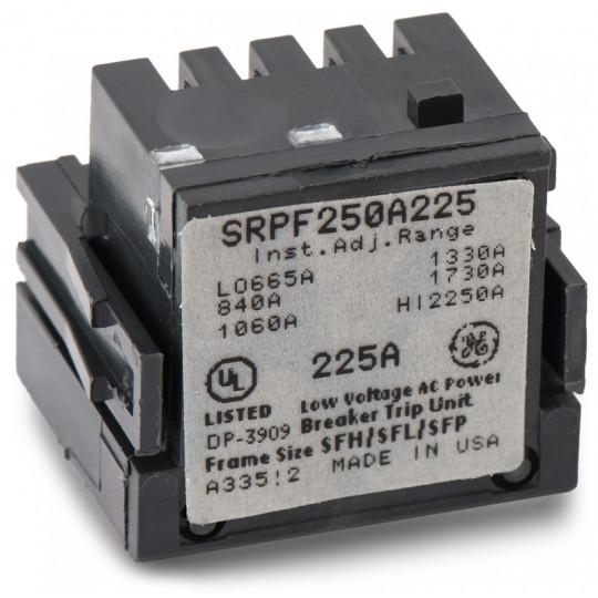 SRPF250A225 - GE 225 Amp 3 Pole 600 Volt Molded Case Circuit Breaker Rating Plug