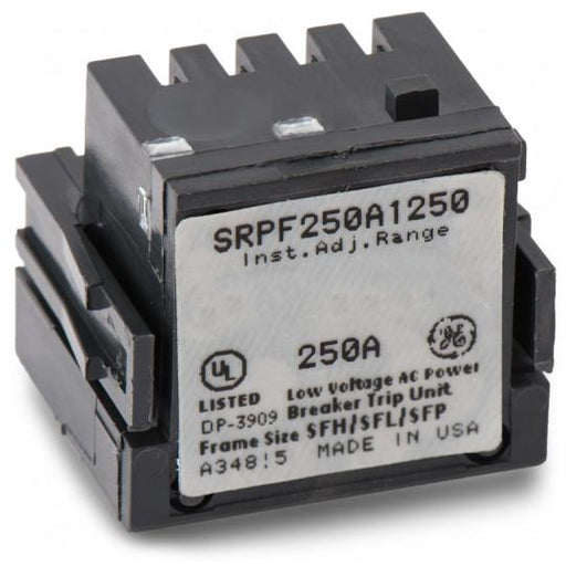 SRPF250A250 - GE 250 Amp 3 Pole 600 Volt Molded Case Circuit Breaker Rating Plug