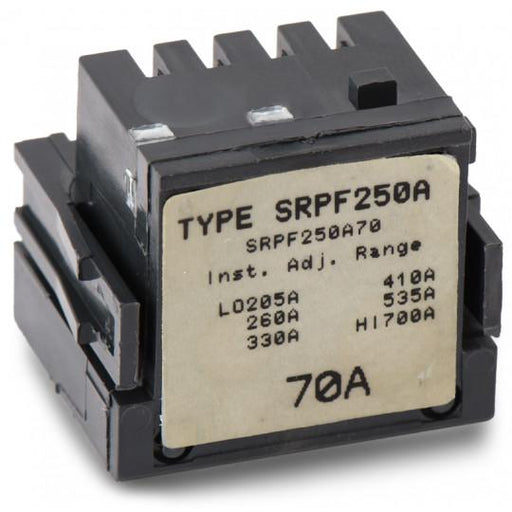 SRPF250A70 - GE 70 Amp 3 Pole 600 Volt Molded Case Circuit Breaker Rating Plug