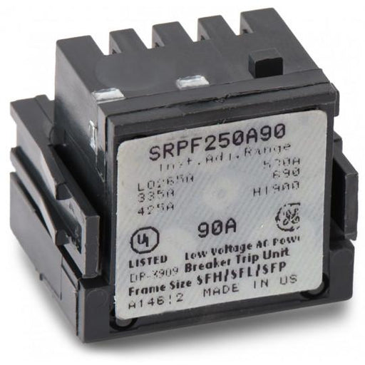 SRPF250A90 - GE 90 Amp 3 Pole 600 Volt Molded Case Circuit Breaker Rating Plug