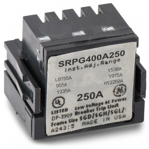 SRPG400A250 - GE 250 Amp 3 Pole 600 Volt Molded Case Circuit Breaker Rating Plug