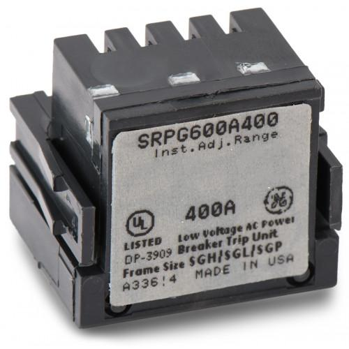SRPG600A400 - GE 400 Amp 3 Pole 600 Volt Molded Case Circuit Breaker Rating Plug