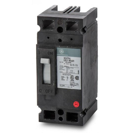 TEB122070WL - GE 70 Amp 2 Pole 240 Volt Molded Case Circuit Breaker General Electric Lug