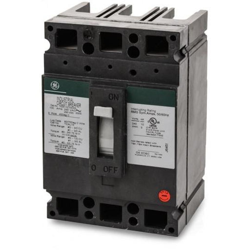 TEB132100WL - GE 100 Amp 3 Pole 240 Volt Molded Case Circuit Breaker General Electric Lug