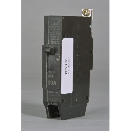 TEY125 - GE 25 Amp 1 Pole 277 Volt Bolt-On Molded Case Circuit Breaker