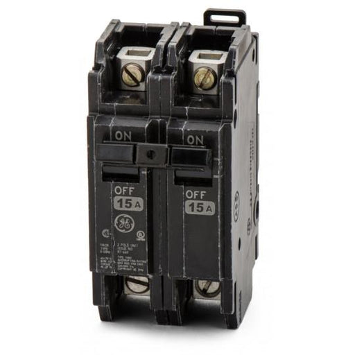 THQC2115WL - GE 15 Amp 2 Pole 240 Volt Molded Case Circuit Breaker