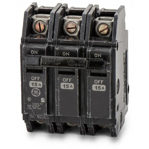 THQC32015WL - GE 15 Amp 3 Pole 240 Volt Molded Case Circuit Breaker