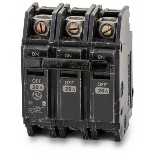 THQC32020WL - GE 20 Amp 3 Pole 240 Volt Molded Case Circuit Breaker