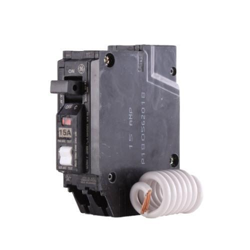 THQL1115AF2 - GE 15 Amp Single Pole Arc Fault (AFCI) Circuit Breaker