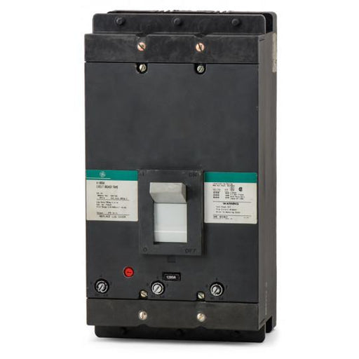TKM3F - GE 1200 Amp 3 Pole 600 Volt Molded Case Circuit Breaker