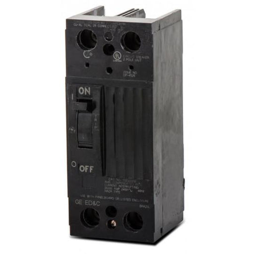 TQD22125WL - GE 125 Amp 2 Pole 240 Volt Molded Case Circuit Breaker