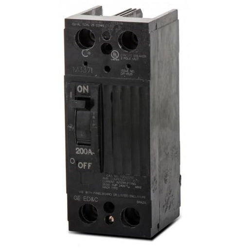 TQD22200WL - GE 200 Amp 2 Pole 240 Volt Molded Case Circuit Breaker