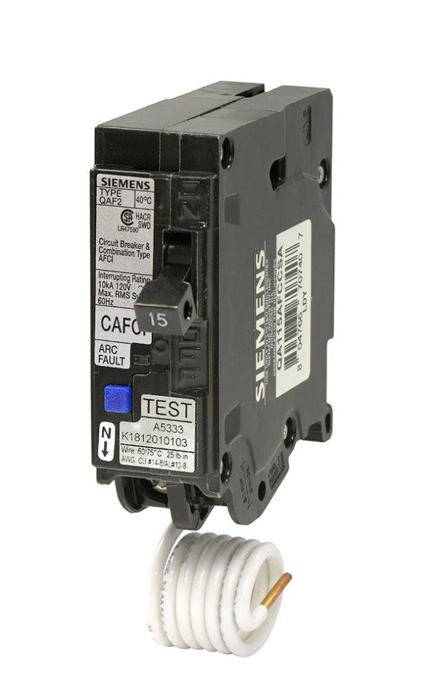 Arc Fault Circuit Breakers