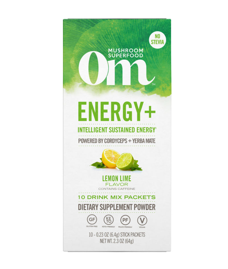 Om Lemon Lime Energy+