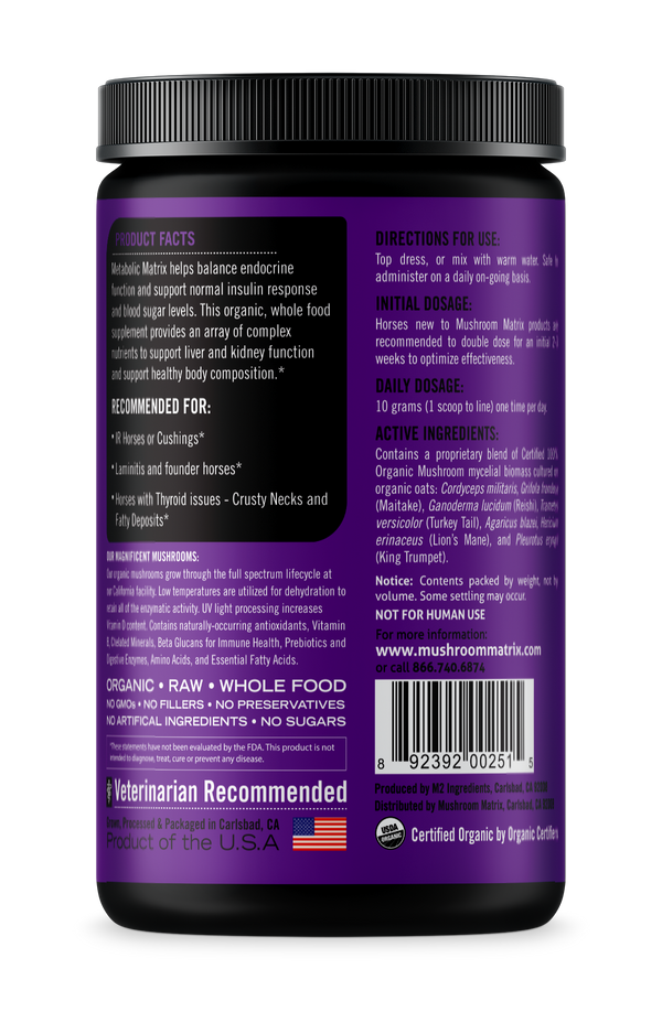 Metabolic Matrix Mushroom Supplement