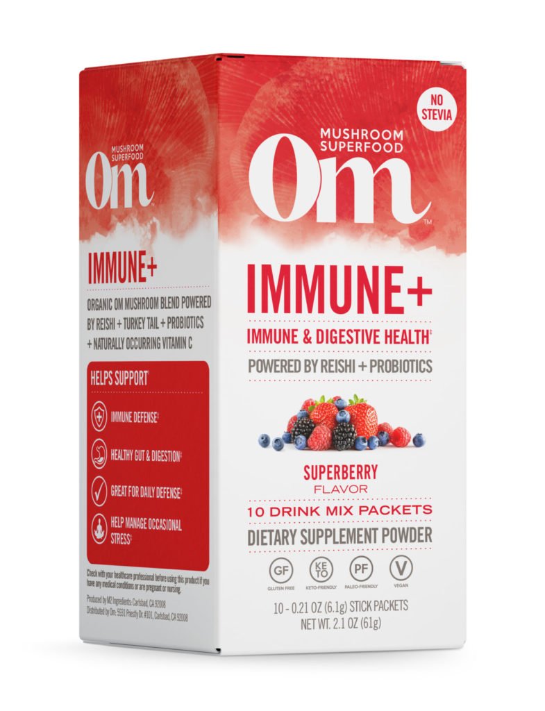 Om Immune+ Super Berry Drink Sticks