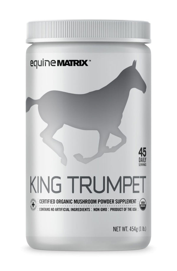 King Trumpet Mushroom Supplement for Horses