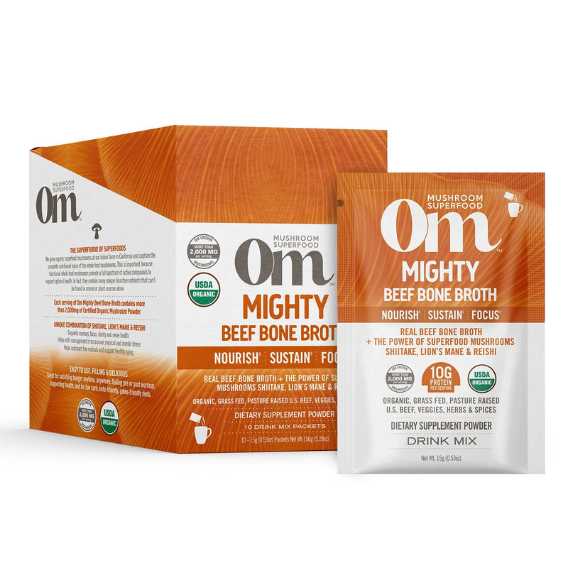 Om Mighty Beef Bone Broth