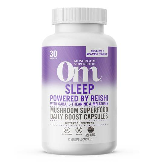 Om Sleep Mushroom Superfood Capsules
