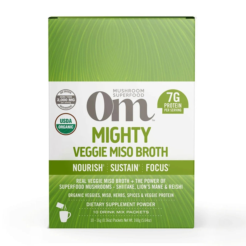 Om Mighty Veggie Miso Broth