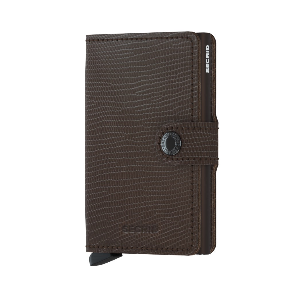 Secrid Brown Rango Mini Wallet