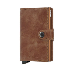 Secrid Mini Wallet Vintage Cognac Rust