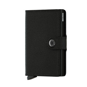 Secrid Black Crisple Mini Wallet
