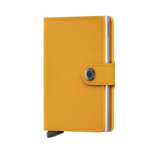 Secrid Mini Wallet Crisple Amber