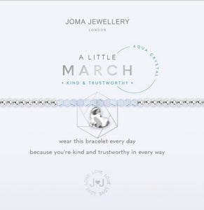 Joma March Aqua Marine Bracelet