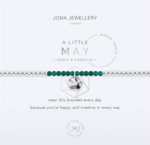 Joma May Birthstone Bracelet