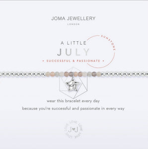 Joma July Birthstone Bracelet