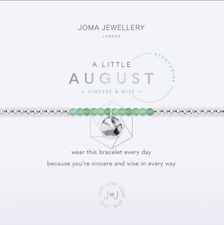 Joma August Birthstone Bracelet