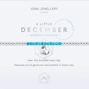Joma December Birthstone Bracelet