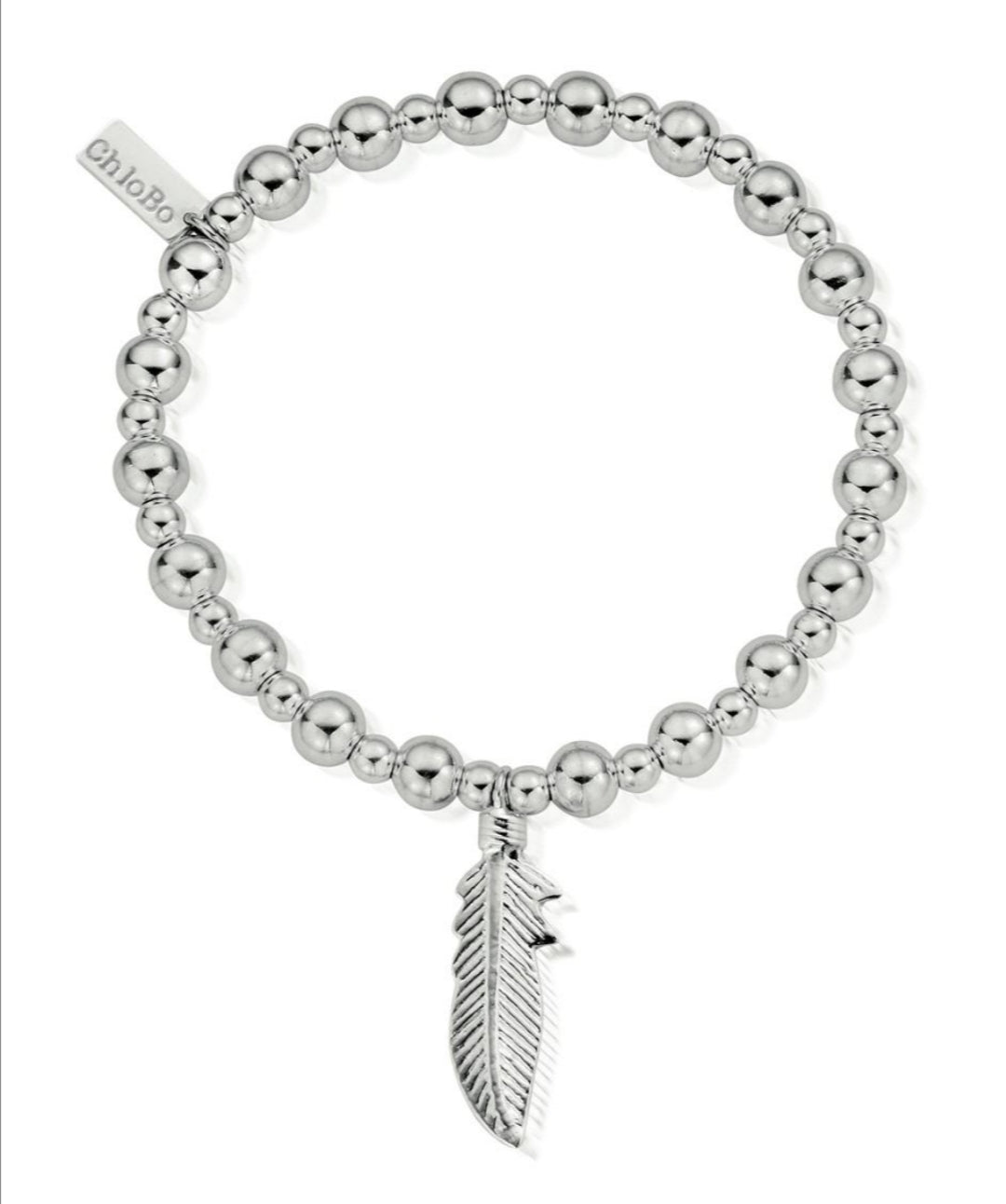 Chlobo mini small ball feather bracelet