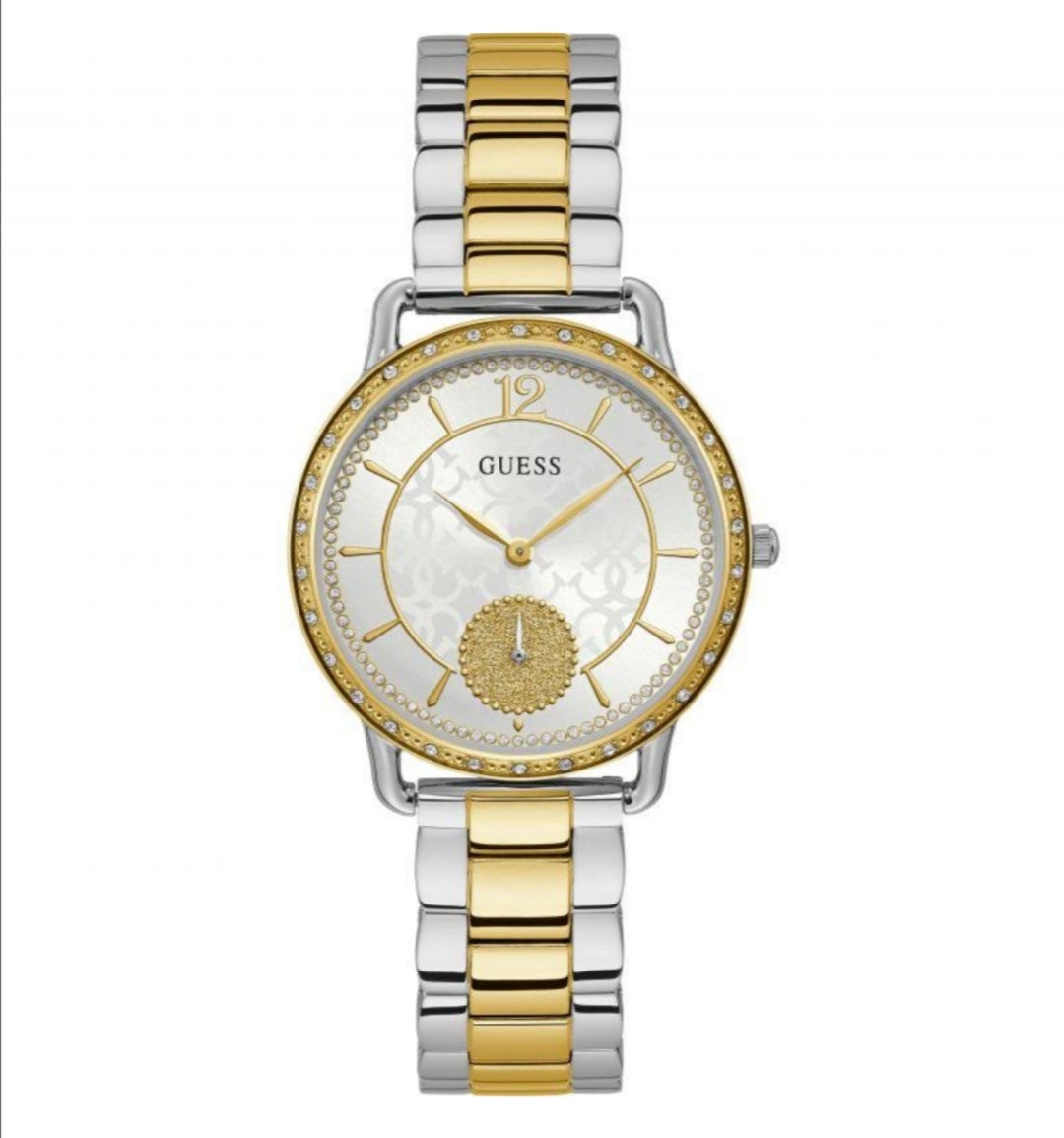 Guess ladies 2 tone watch