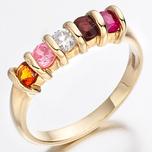 "Not Available Online. ""In store Only"" The Birthstone Ring. A unique ring for any Mum containing her children's birthstones."