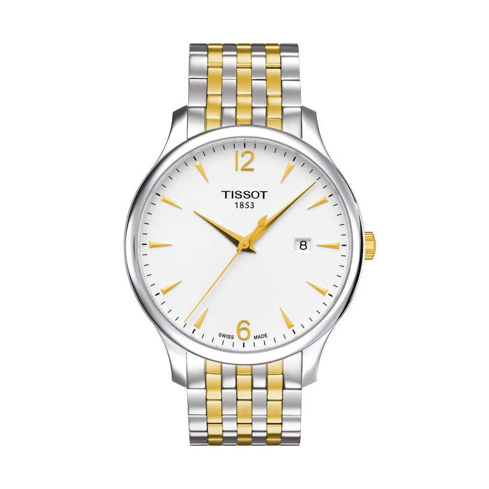 Tissot Tradition Gold & Steel Gents Watch 100m