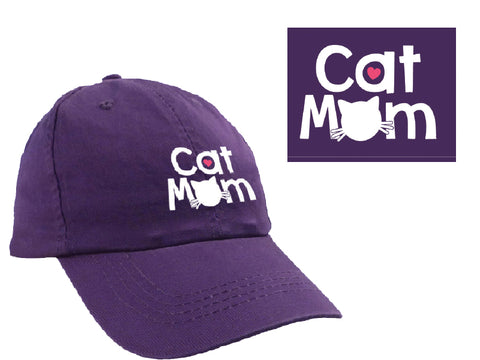 Ball Cap - Cat Mom