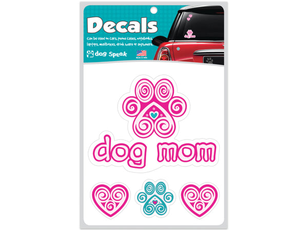 Dog Mom Decal Sheet