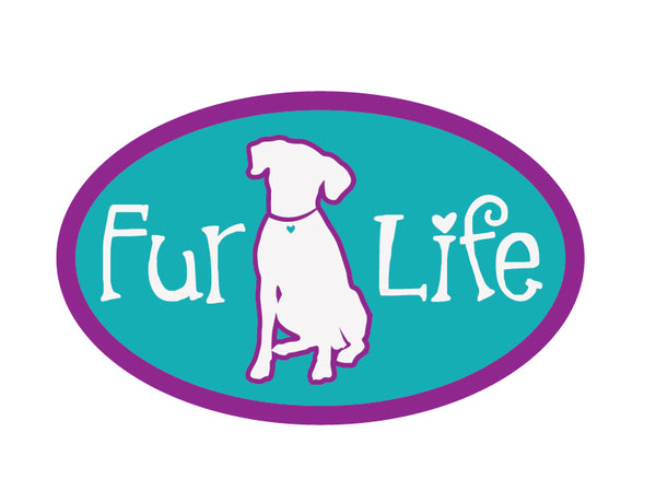 "Fur Life 3"" Decal"