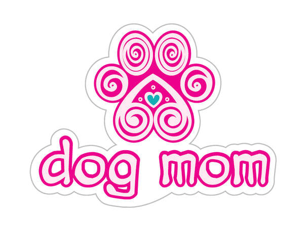 "Dog Mom 3"" Decal"