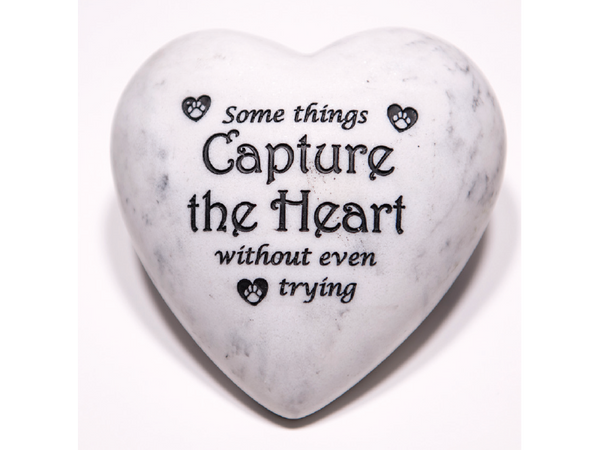 Inspirational Paperweight - Some Things Capture the Heart