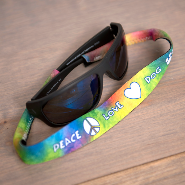 Sunglass Holders - Peace Love Dog
