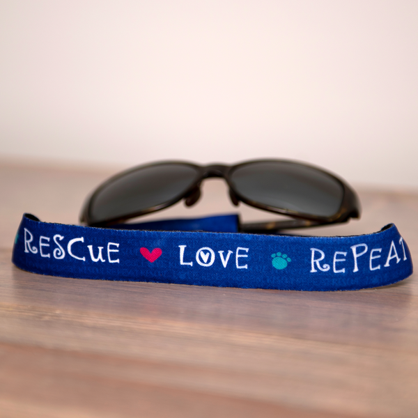 Sunglass Holders - Rescue Love Repeat