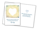 Pet Sympathy Card - When The Heart Has Felt Love