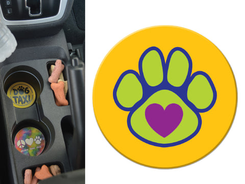 Absorbent Stone Car Coaster  - Cat Mom