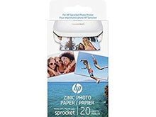 Load image into Gallery viewer, HP Zink 20SH Gls Adh Photo Paper (Pack of 20)