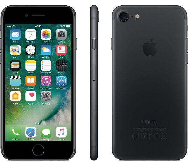 Apple iPhone 7 Unlocked | 128 GB (Black)