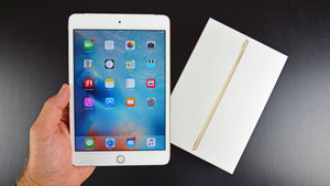 Apple iPad mini 4 Tablet( 7.9 inch, 128 GB, Wi-Fi + Cellular), Gold